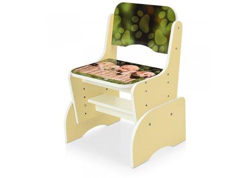 Детская парта-трансформер со стульчиком Щенки Bambi B 2071-90-2(EN) ваниль