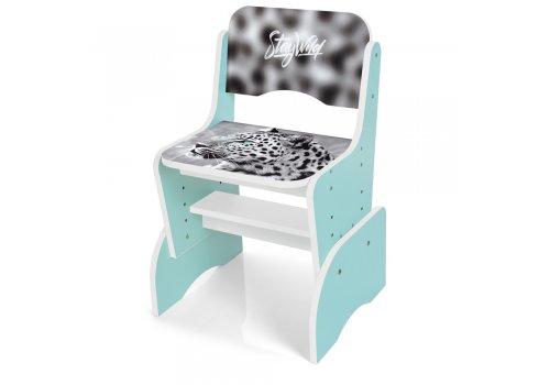 Детская парта-трансформер со стульчиком Леопард Bambi B 2071-93-2(EN) мята