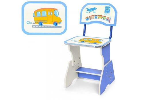 Детская парта со стульчиком Растишка, HB-2071(2)-01-7 голубой