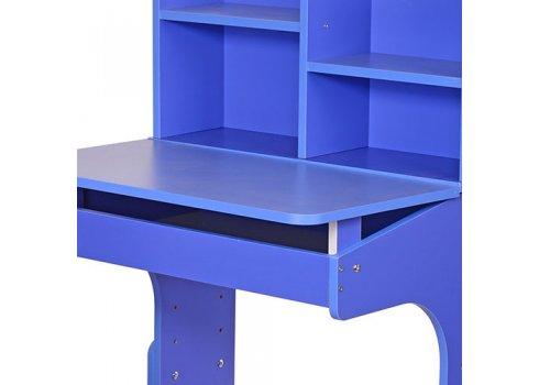 Детская парта-трансформер со стульчиком, F 2071A-4-42 синий с голубым