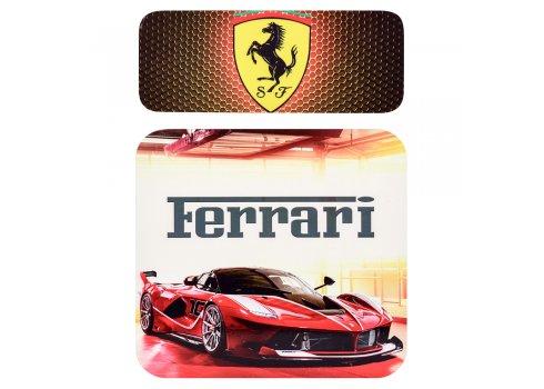 Детская парта со стульчиком Ferrari, высота регулируется, Bambi HB-301-47-1