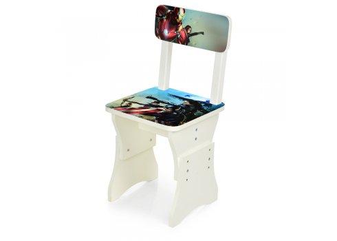 Детская парта со стульчиком Marvel, высота регулируется, Bambi HB-301-78