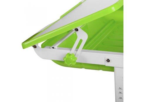 Детская парта с ящиком, регулируется высота и наклон, Bambi M 3111-5 зеленый