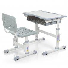 Детская парта и стульчик «Растишка» (комплект-трансформер) Bambi Bambi M 3230-11 серый