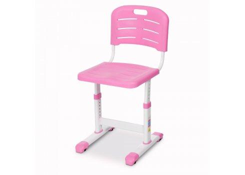 Парта железная со стульчиком Растишка (комплект-трансформер) BAMBI M 3230(2)-8 розовый