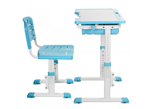 Детская парта и стульчик «Растишка» (комплект-трансформер) Bambi Bambi M 3230-4 синяя