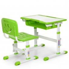 Детская парта и стульчик «Растишка» (комплект-трансформер) Bambi Bambi M 3230-5 зеленая
