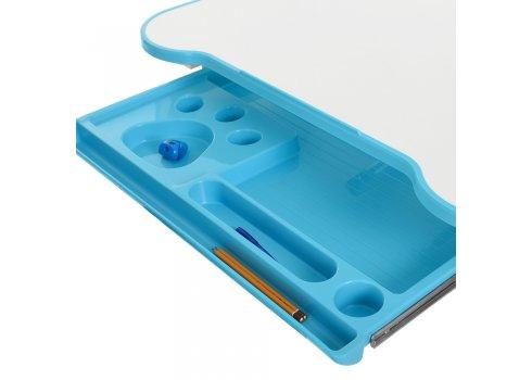 Детская парта и стульчик «Растишка» (комплект-трансформер) Bambi M 3823-4 голубая