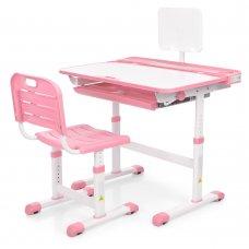Детская парта-растишка и стул Bambi M 3823A-8 розовый