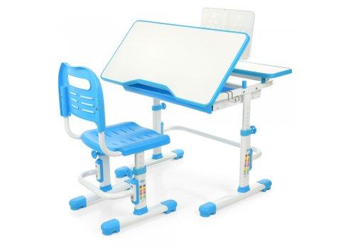 Комплект-трансформер парта и стул Bambi M 4253-4 синий