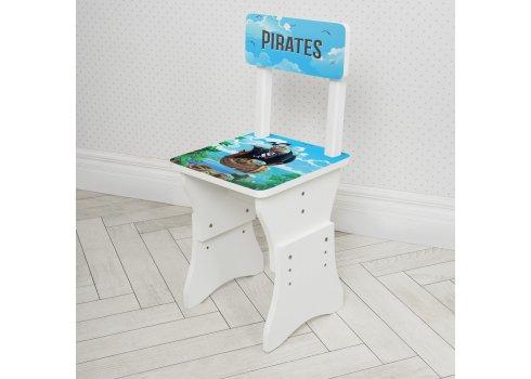 Детская парта со стульчиком Растишка BAMBI Пираты 904-107 белый