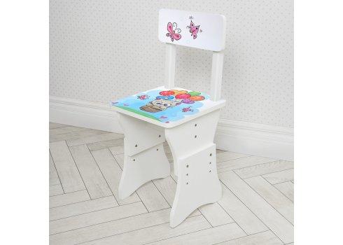 Детская парта со стульчиком Растишка BAMBI Котенок 904-109 белый