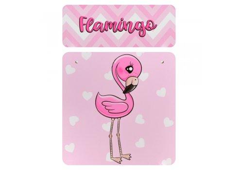 Детская парта со стульчиком Растишка BAMBI Фламинго 904-71