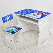 """Детская стол-парта со стульчиком """"Буба"""" Bambi 905-103(UA) синий"""