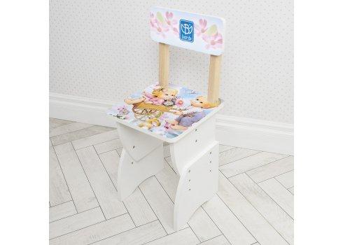 Детская стол-парта со стульчиком Bambi 905-18 белый