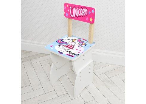 """Детская стол-парта со стульчиком """"Единороги"""" Bambi 905-51"""