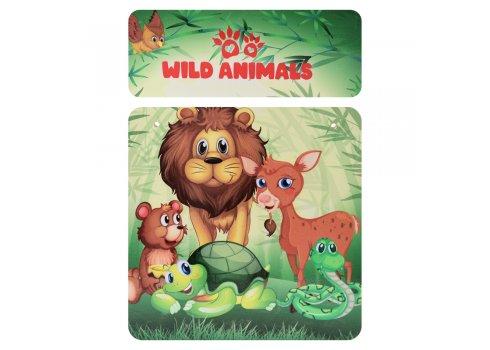 """Детская стол-парта со стульчиком """"Животные"""" Bambi 905-83"""
