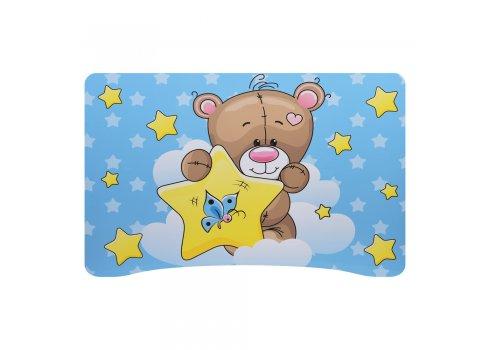 """Детская стол-парта со стульчиком """"Мишка"""" Bambi 905-8 голубой"""