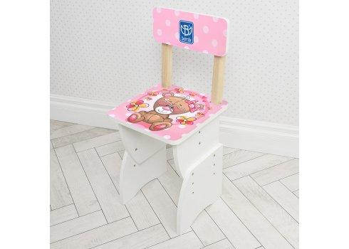 """Детская стол-парта со стульчиком """"Розовый мишка"""" Bambi 905-9"""