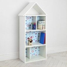 Детский стеллаж для книг и игрушек (домик-полка) BAMBI H 2020-11-1