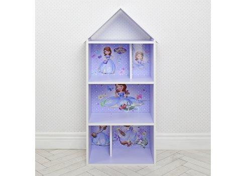 Детский стеллаж для книг и игрушек (домик-полка) София Прекрасная BAMBI H 2020-15-1 лаванда