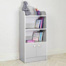 Полка-стеллаж для книг и игрушек, этажерка детская BW 207-13 серый