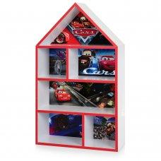 Домик-стеллаж для игрушек 95 см Тачки PLK-L-2 белый