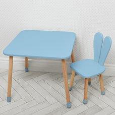 Столик со стульчиком Зайчик Bambi 04-025BLAKYTN голубой