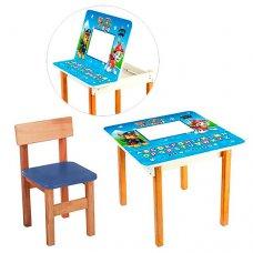 Столик с ящиком и стульчик, F09-3 Щенячий патруль