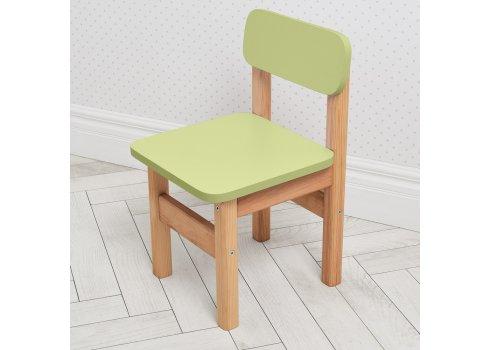 Детский деревянный столик и два стульчика F091 салатовый