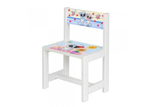 Детский деревянный столик со стульчиком Овечка BSM1-28