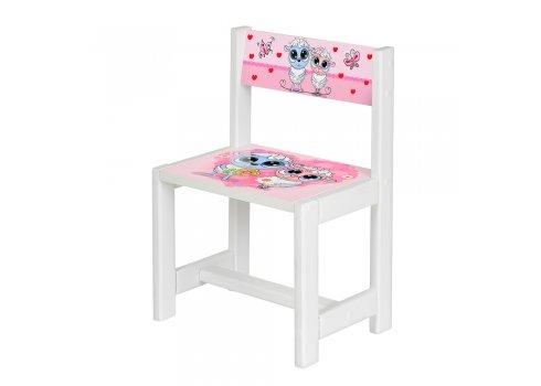 Детский деревянный столик со стульчиком Овечка BSM1-29