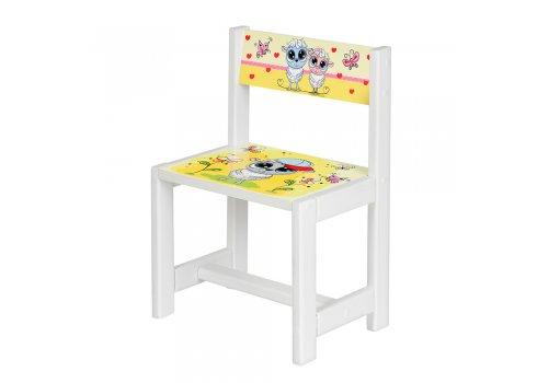 Детский деревянный столик со стульчиком Овечка-художник BSM1-30