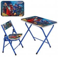 Детский складной столик со стульчиком Marvel A19-AVE