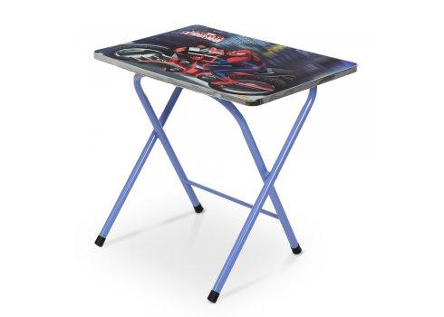 Детский складной столик со стульчиком Спайдермен A19-BLSP синий