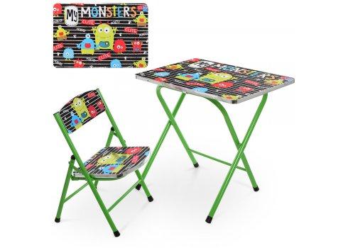 Детский складной столик со стульчиком Монстрики A19-MONST