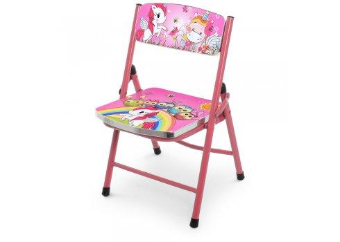 Детский складной столик со стульчиком Единороги A19-NEW UNI2 розовый
