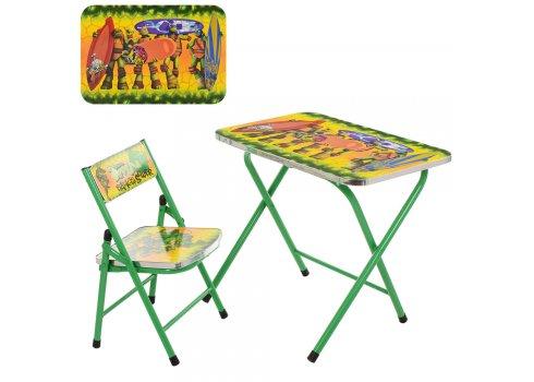 Детский складной столик со стульчиком A19-NJ