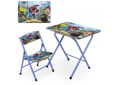 Детский складной столик со стульчиком Человек-паук A19-SP