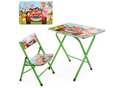 Детский складной столик со стульчиком A19-CA