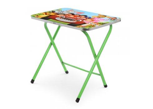 Детский складной столик со стульчиком A19-CA зеленый