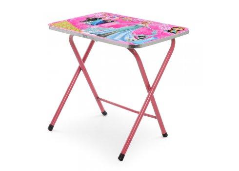 Детский складной столик со стульчиком Холодное сердце A19-PINKFR розовый