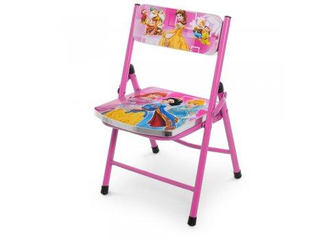 Детский складной столик со стульчиком Принцессы A19-PR розовый