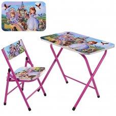 Детский складной столик со стульчиком София прекрасная, A19-SF