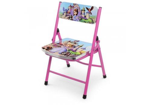 Детский складной столик со стульчиком София прекрасная A19-SF фиолетовый