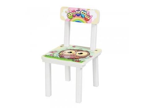 Детский деревянный столик со стульчиком Совы BSM2K-01