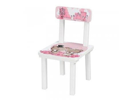 Детский деревянный столик со стульчиком Мишки BSM2K-08