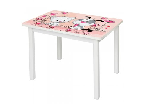 """Детский деревянный столик со стульчиком """"Щенок"""" BSM2K-10С"""