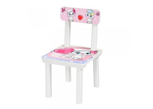 """Детский деревянный столик со стульчиком """"Котята"""" BSM2K-22"""
