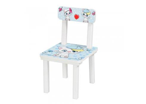Детский деревянный столик со стульчиком Котята BSM2K-25